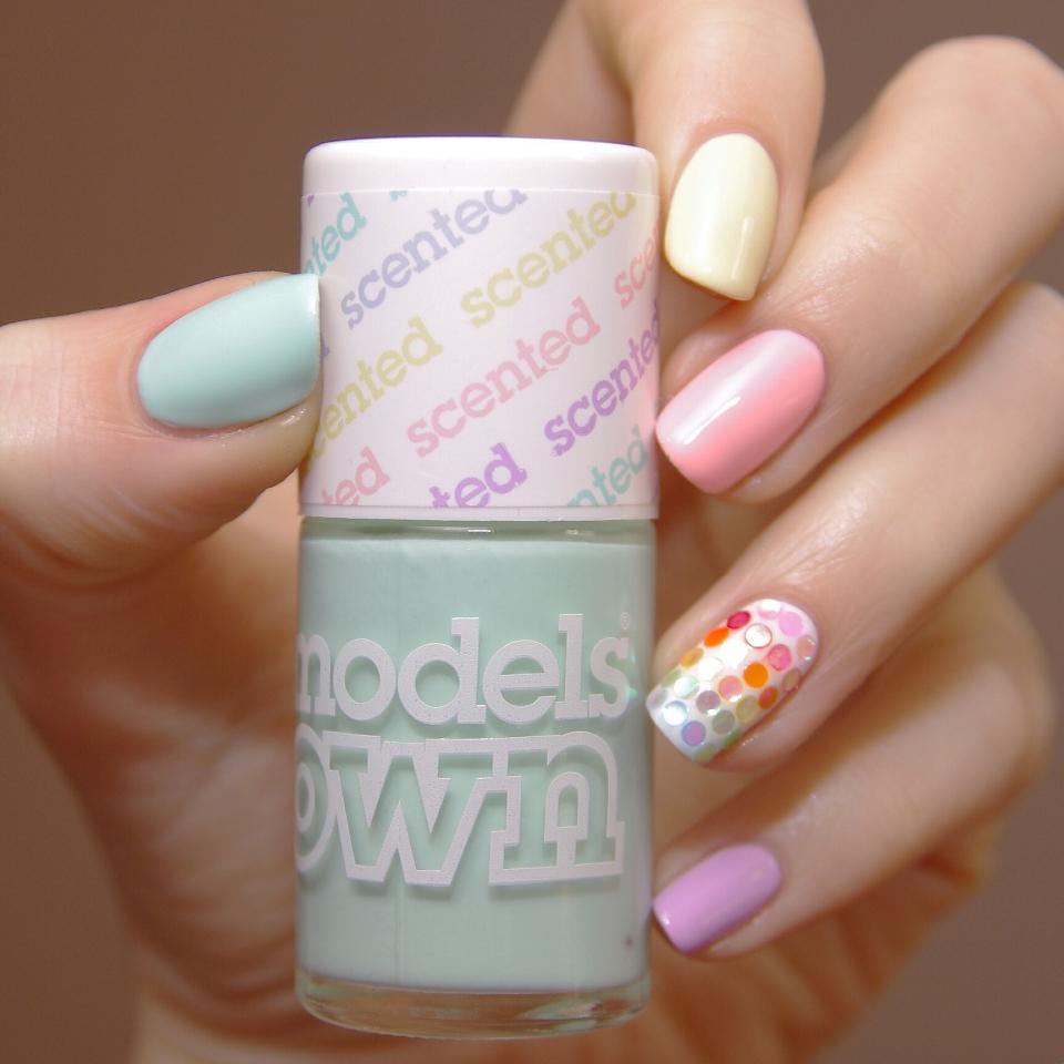 Bulleuw::Models Own pastel et paillettes