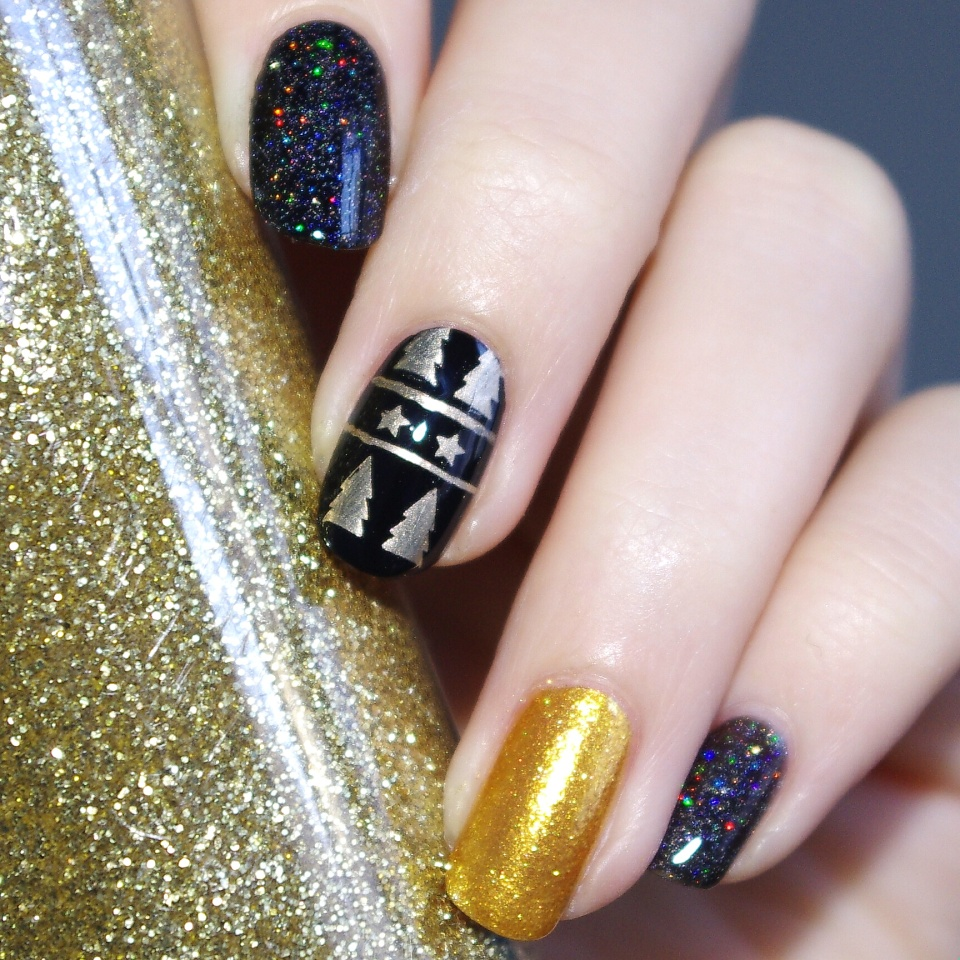 Bulleuw:Christmas Black and Gold 1