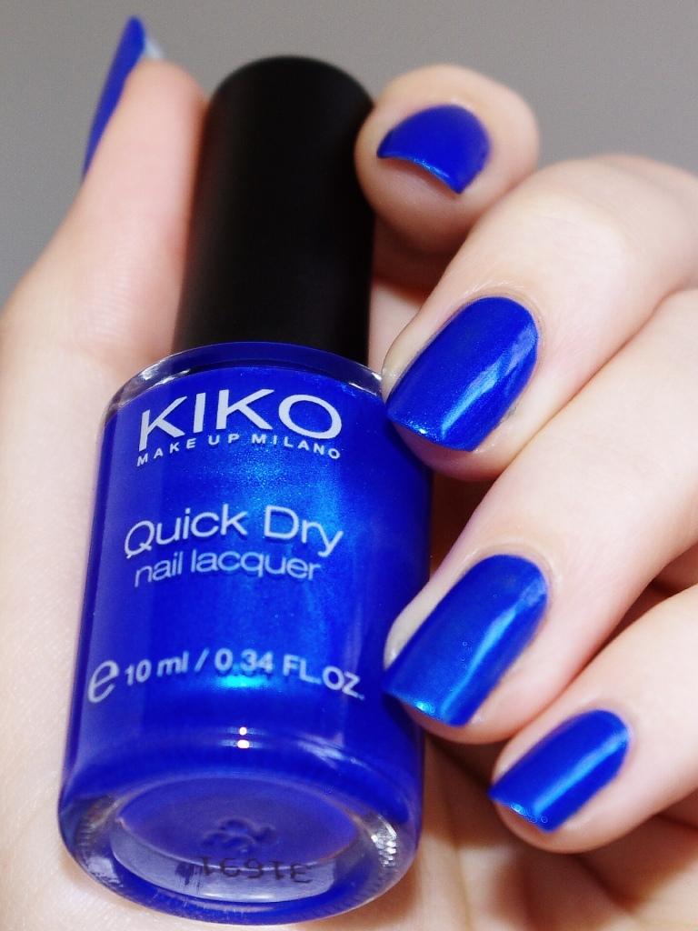 Bulleuw:Kiko Metallic blue 2
