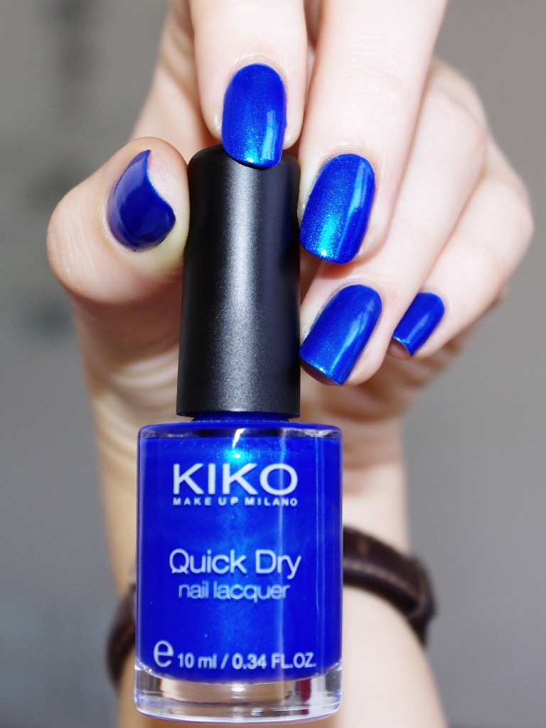 Bulleuw:Kiko Metallic blue 4
