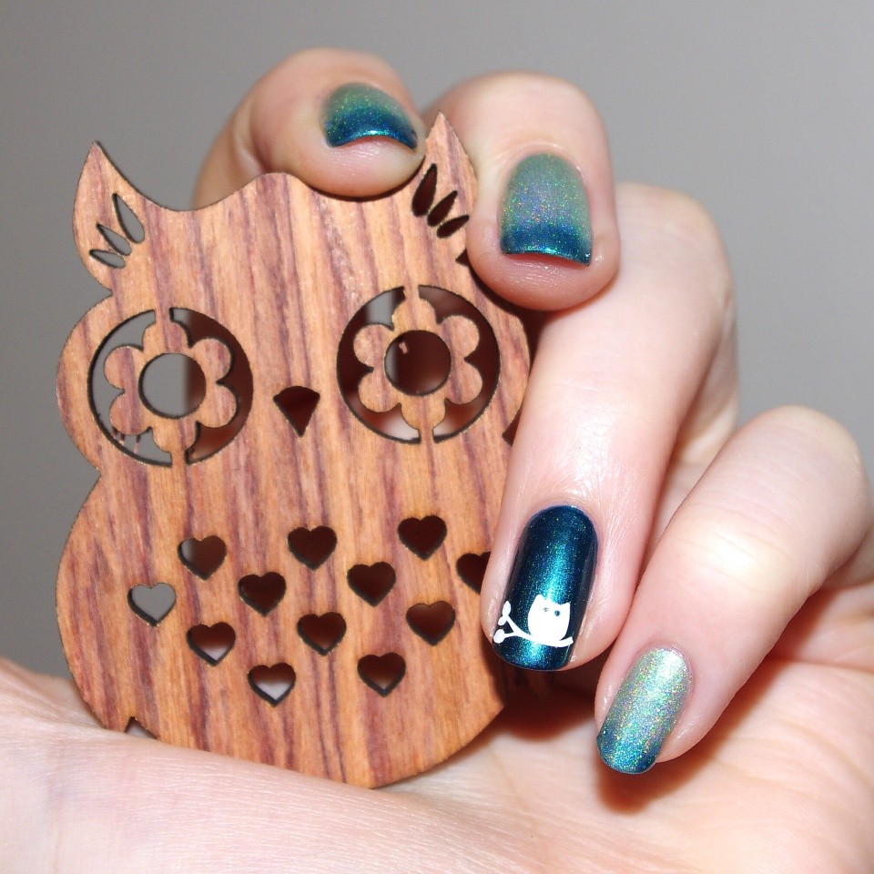 Bulleuw:Mint to Be nail art 5