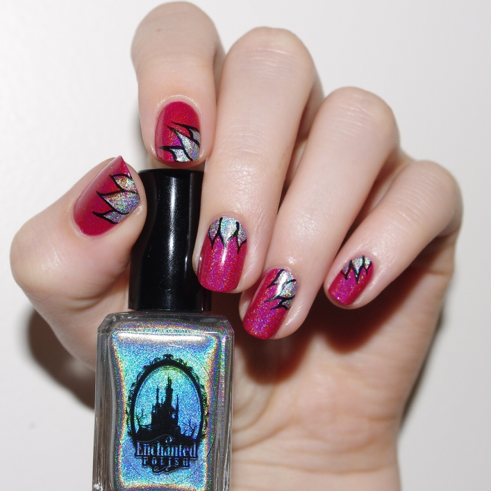 Bulleuw:ATC Watermelon NailArt 3