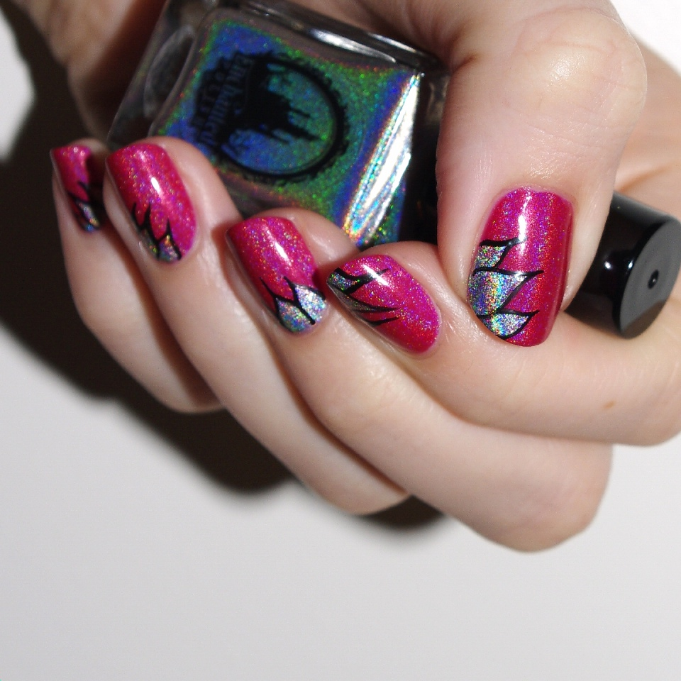 Bulleuw:ATC Watermelon NailArt 4