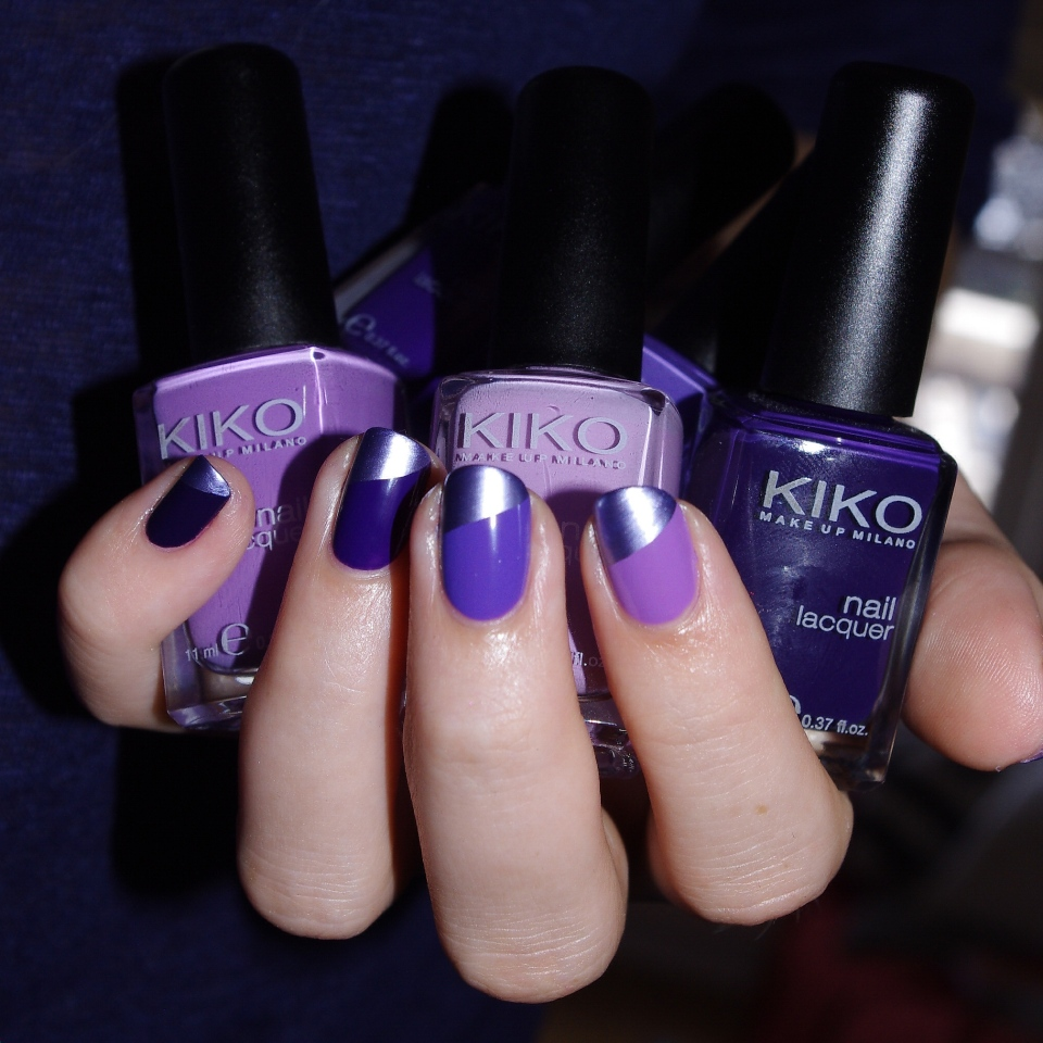 Bulleuw:Ombré Nails Purple 1