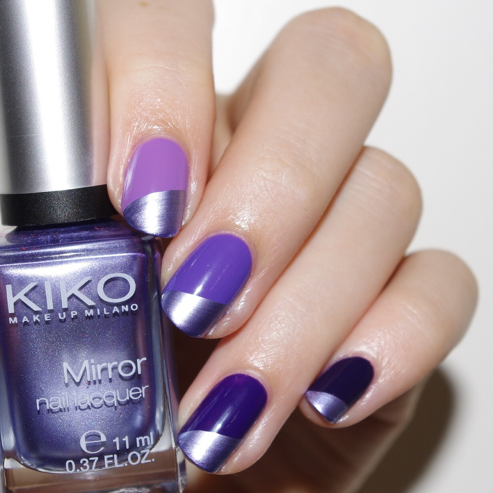 Bulleuw:Ombré Nails Purple 2