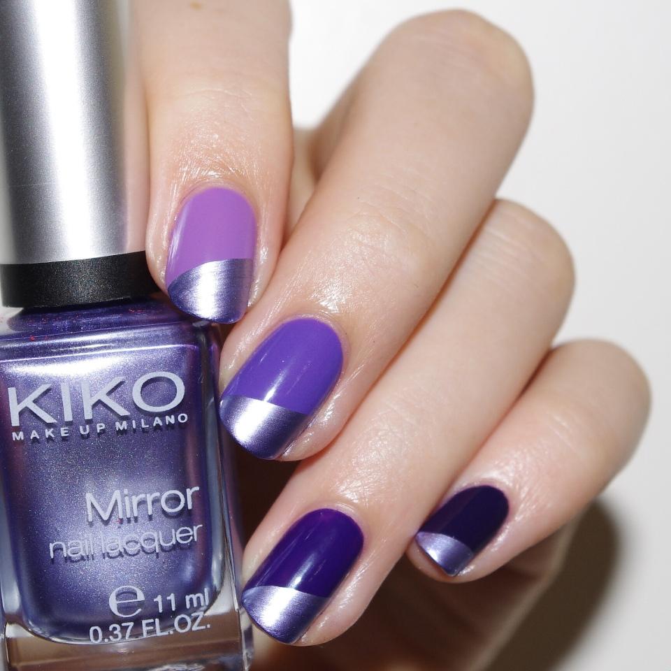 Bulleuw:Ombré Nails Purple 2