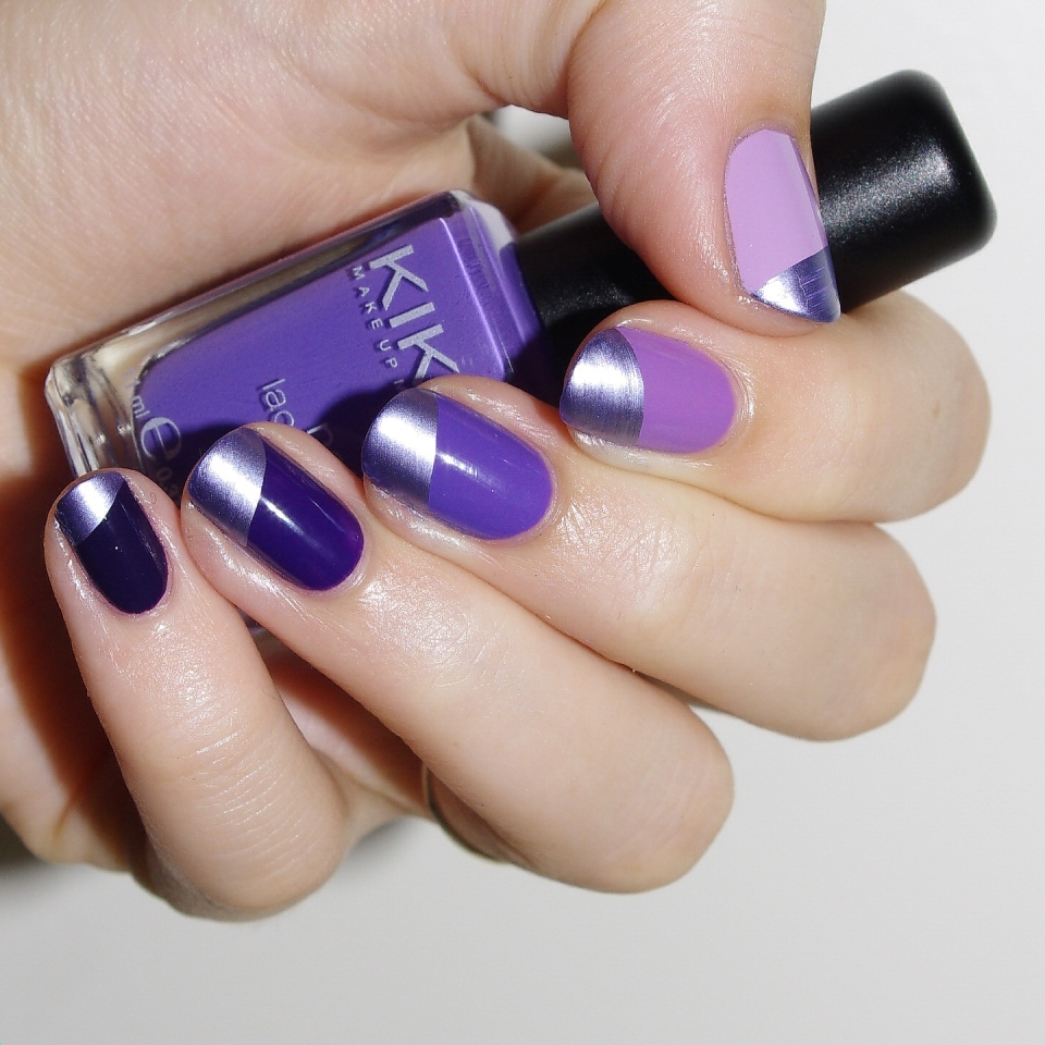 Bulleuw:Ombré Nails Purple 3