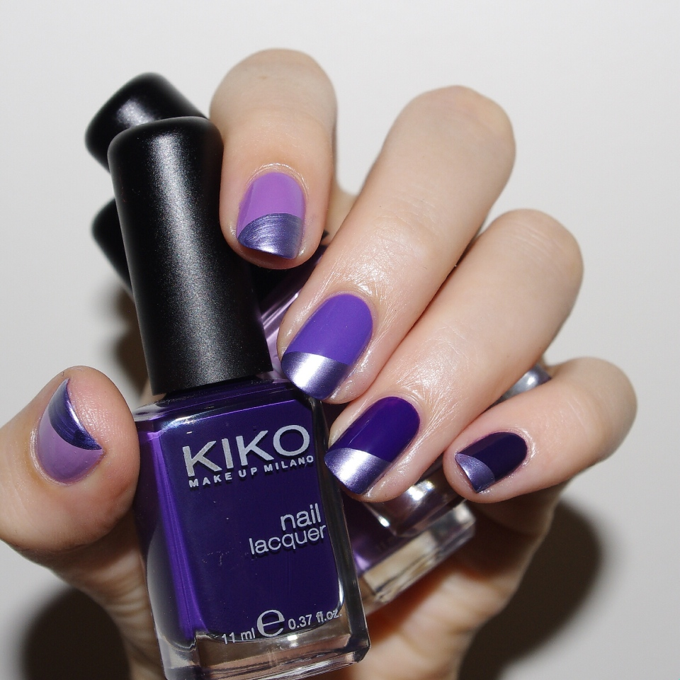 Bulleuw:Ombré Nails Purple 5