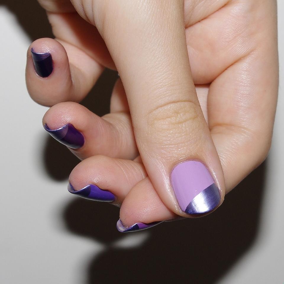 Bulleuw:Ombré Nails Purple 6