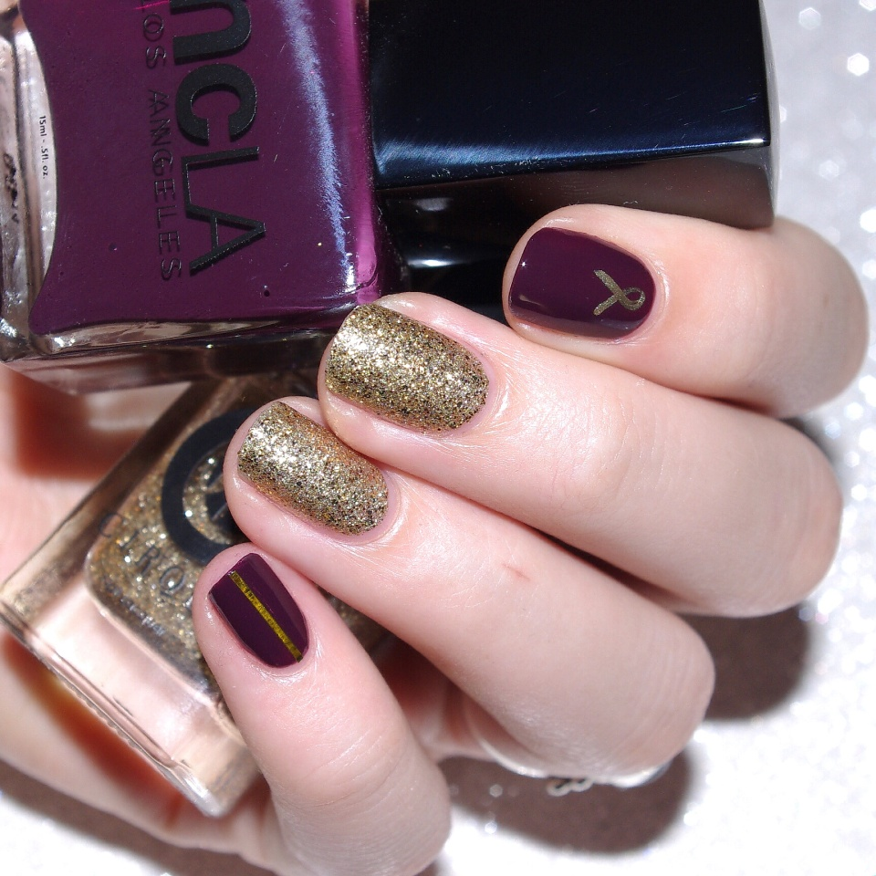 Bulleuw:Nailstorming Be Bold Go Gold 2