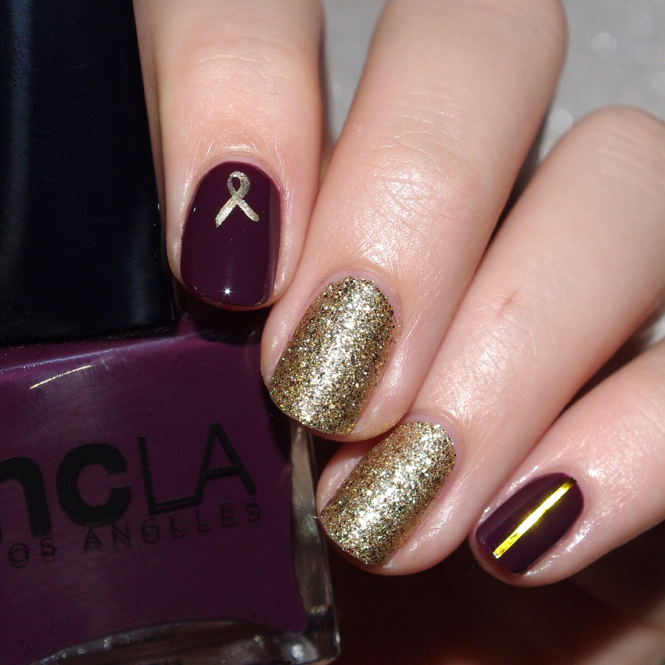 Bulleuw:Nailstorming Be Bold Go Gold 4