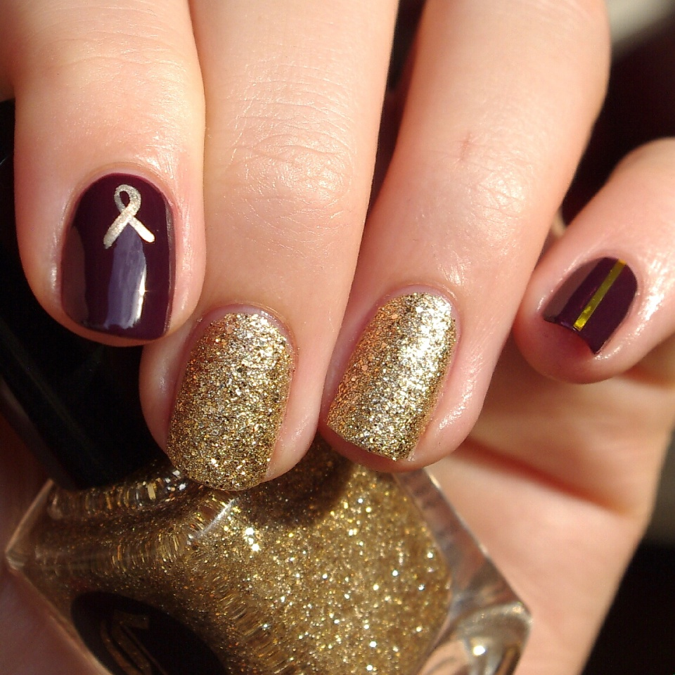 Bulleuw:Nailstorming Be Bold Go Gold 5