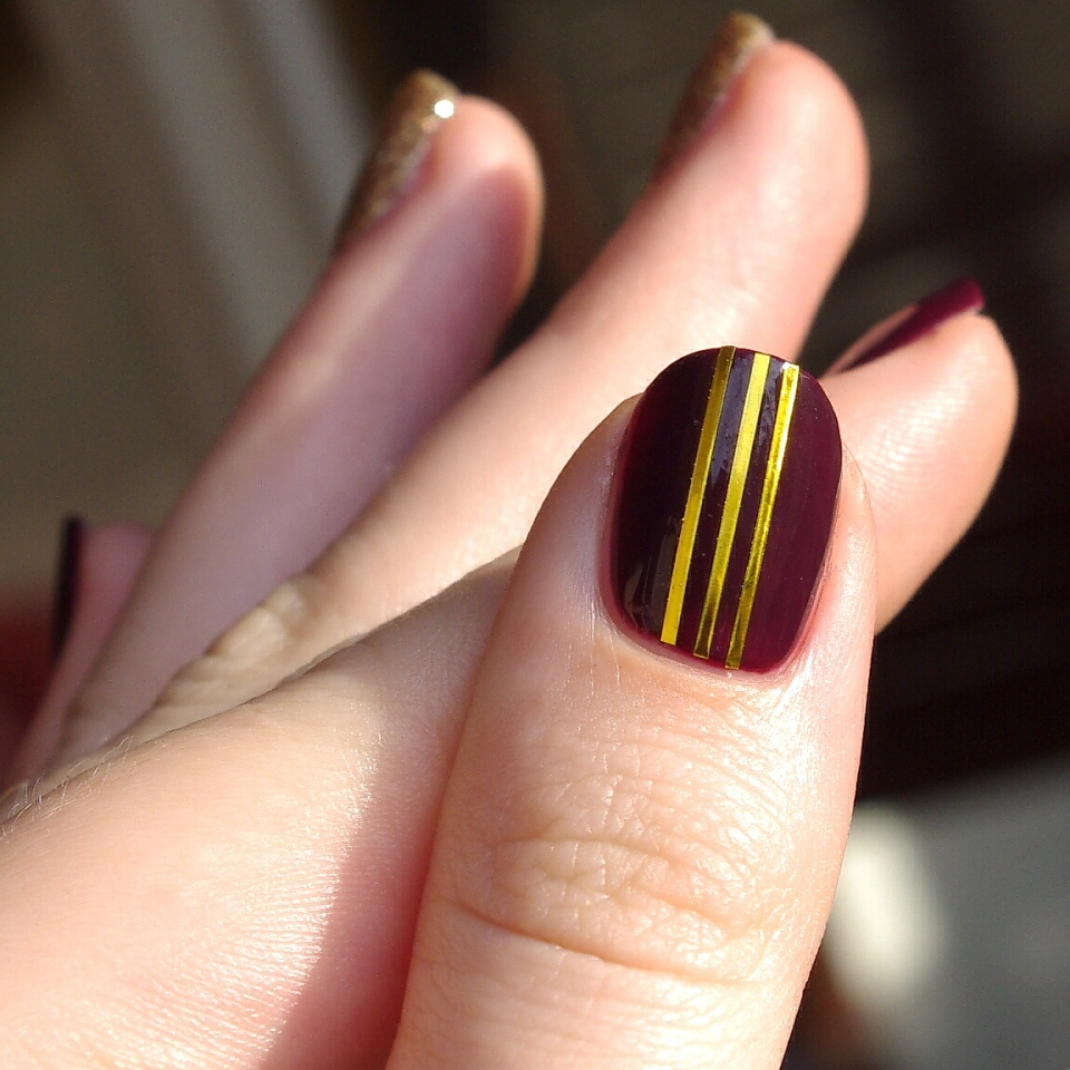 Bulleuw:Nailstorming Be Bold Go Gold 6