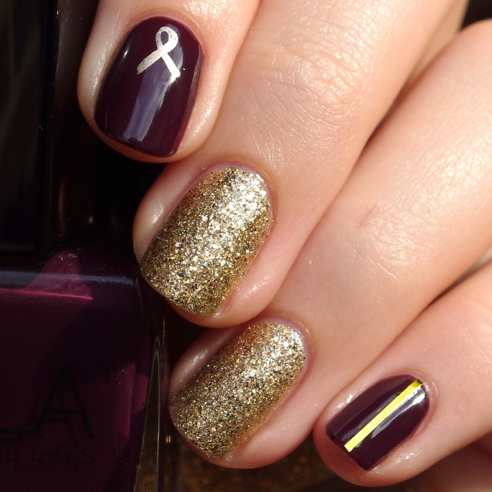 Bulleuw:Nailstorming Be Bold Go Gold 7