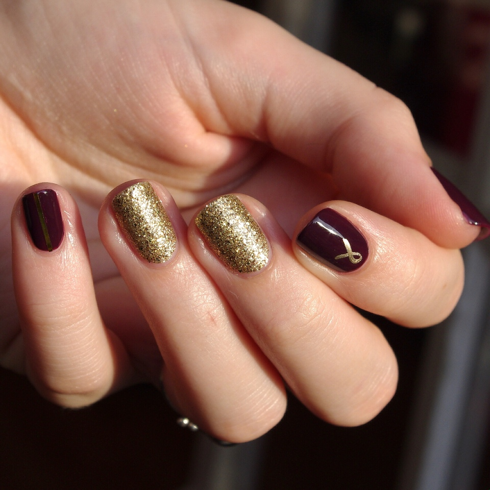 Bulleuw:Nailstorming Be Bold Go Gold 8