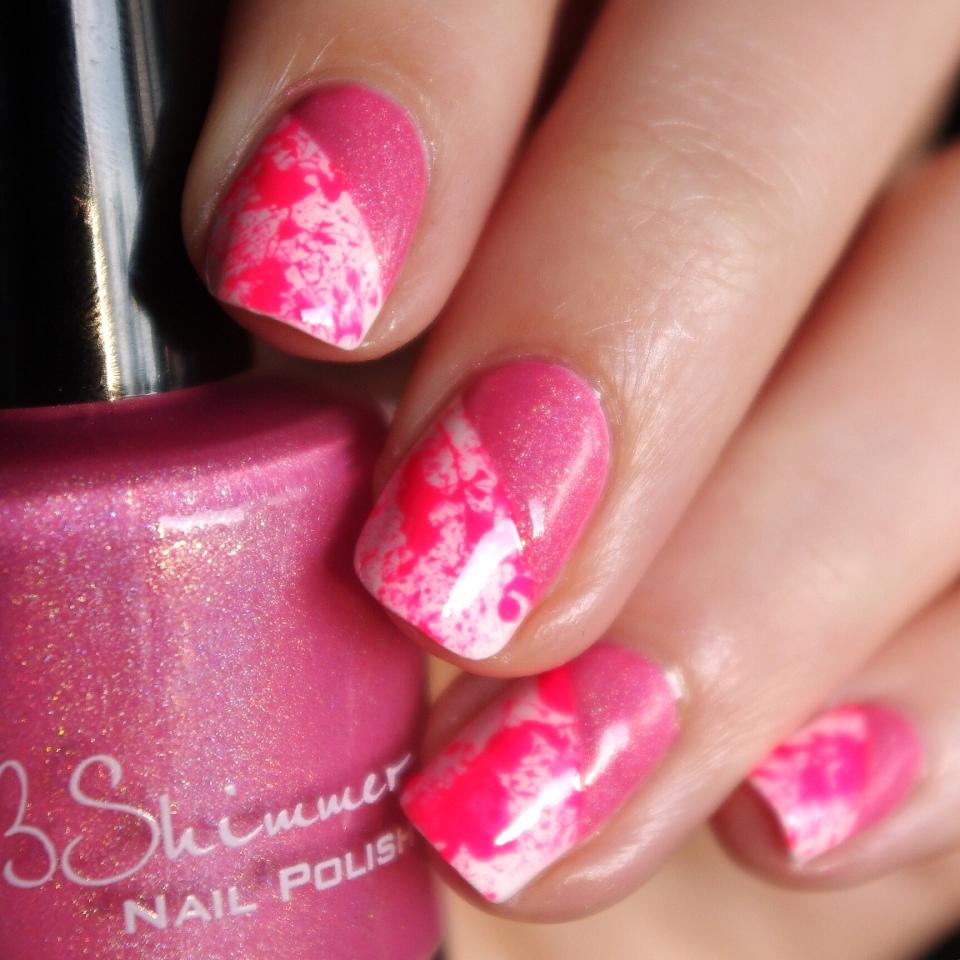 Bulleuw:Pink Splash & Holo 1