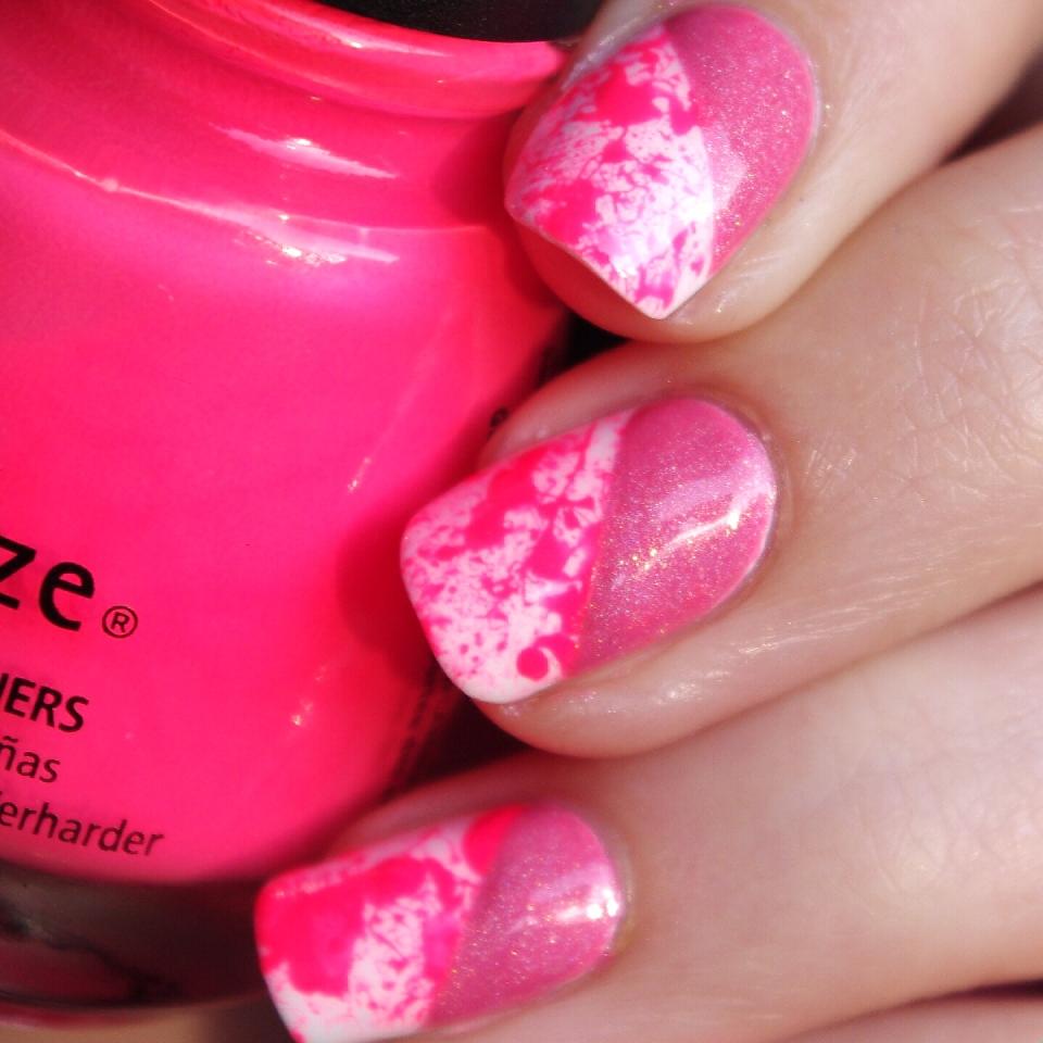 Bulleuw:Pink Splash & Holo 3