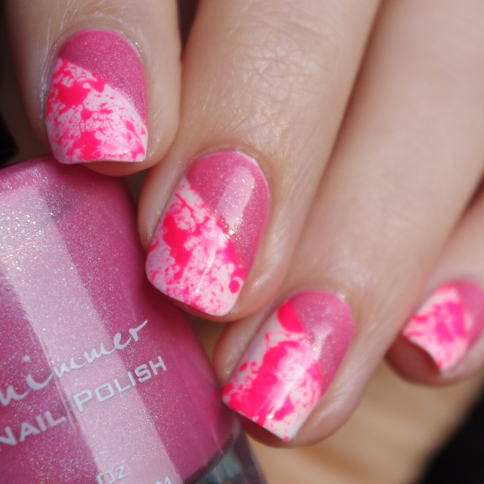 Bulleuw:Pink Splash & Holo 4