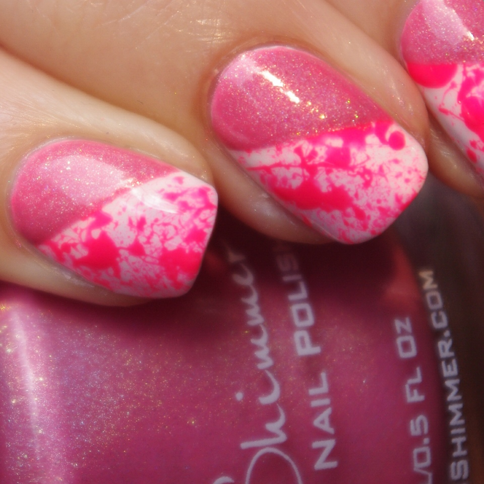Bulleuw:Pink Splash & Holo 5