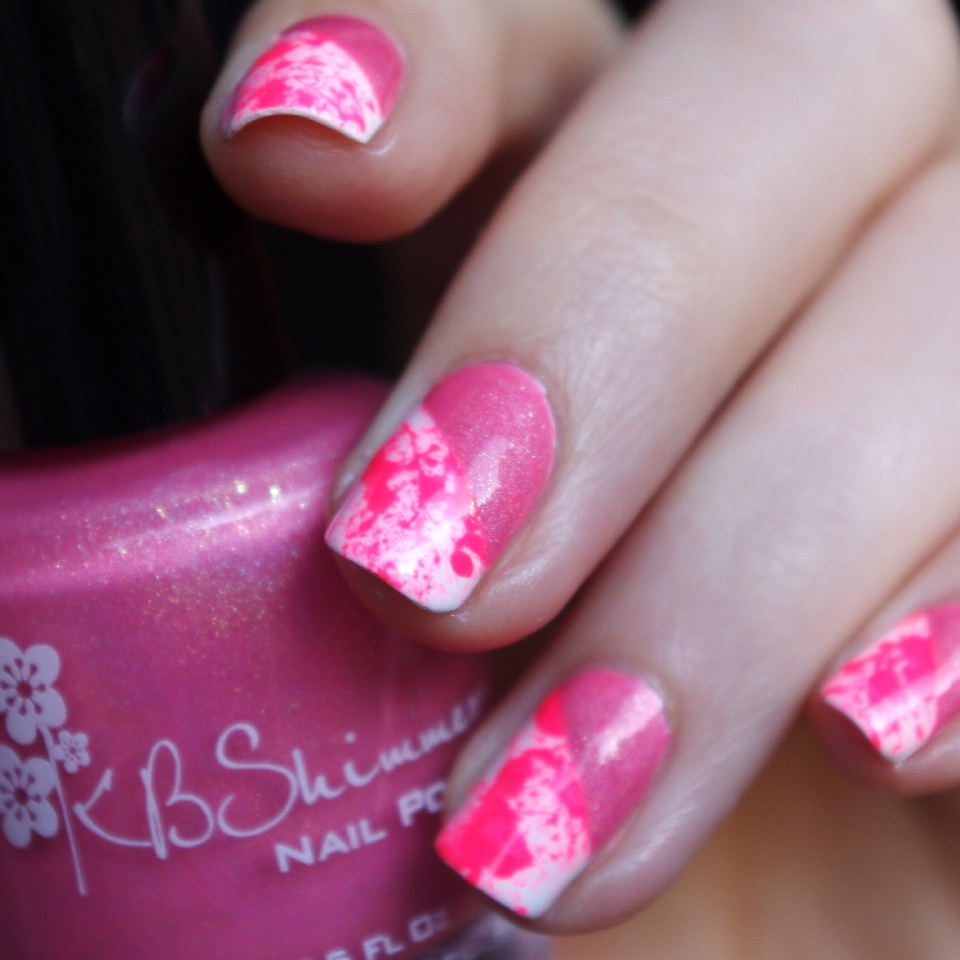 Bulleuw:Pink Splash & Holo 7