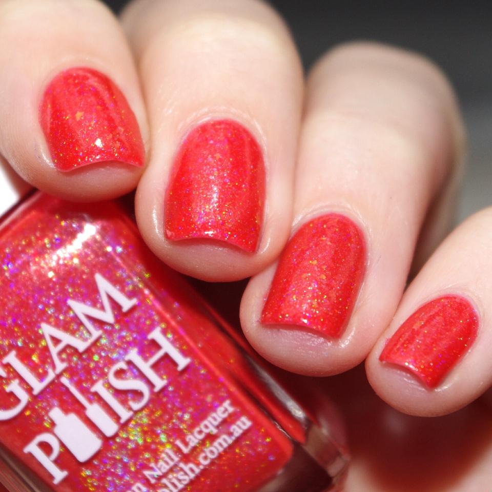 Bulleuw:GlamPolish Hibiscus 4