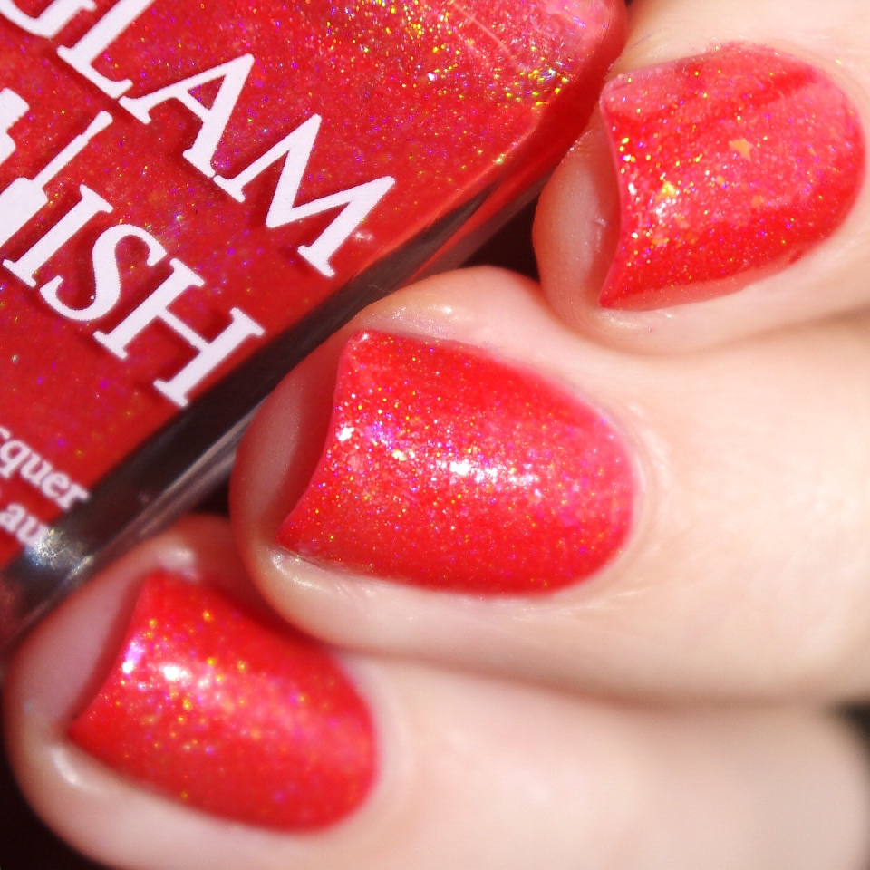 Bulleuw:GlamPolish Hibiscus 5