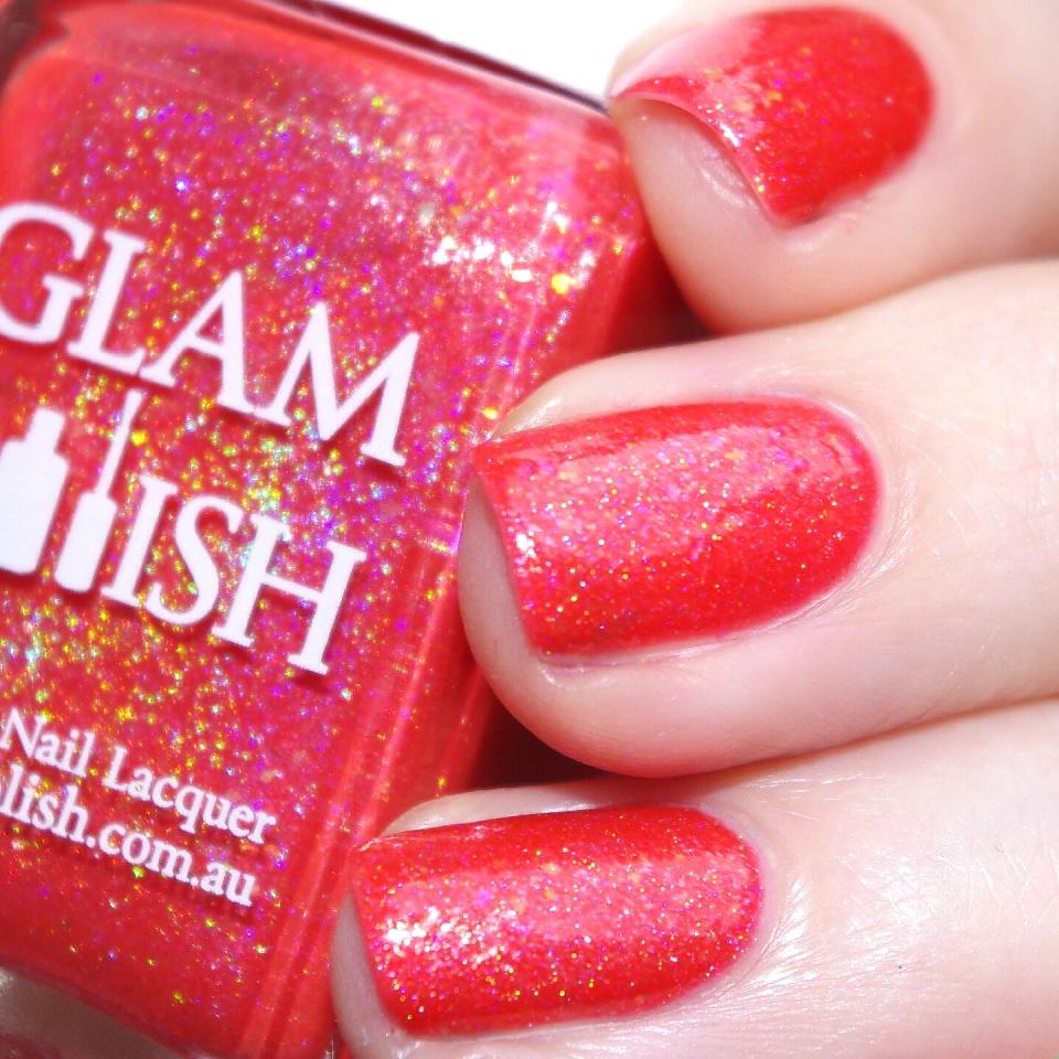 Bulleuw:GlamPolish Hibiscus 7