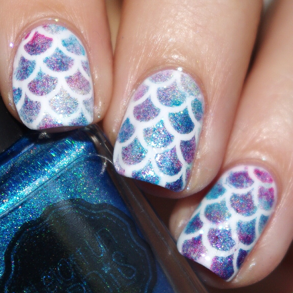Bulleuw:Mermaid's nails 6