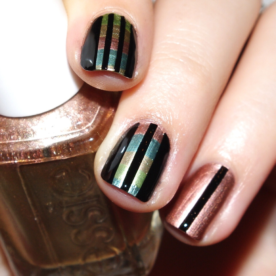 Bulleuw : 31DC2015 Metallic Nails 2