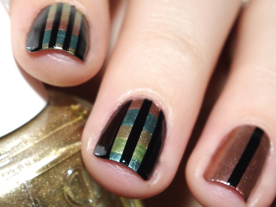 Bulleuw : 31DC2015 Metallic Nails 3