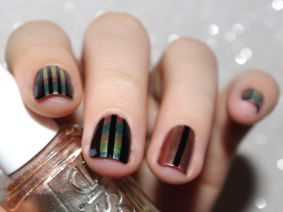 Bulleuw : 31DC2015 Metallic Nails 5
