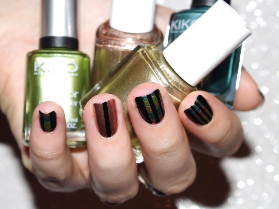 Bulleuw : 31DC2015 Metallic Nails 6