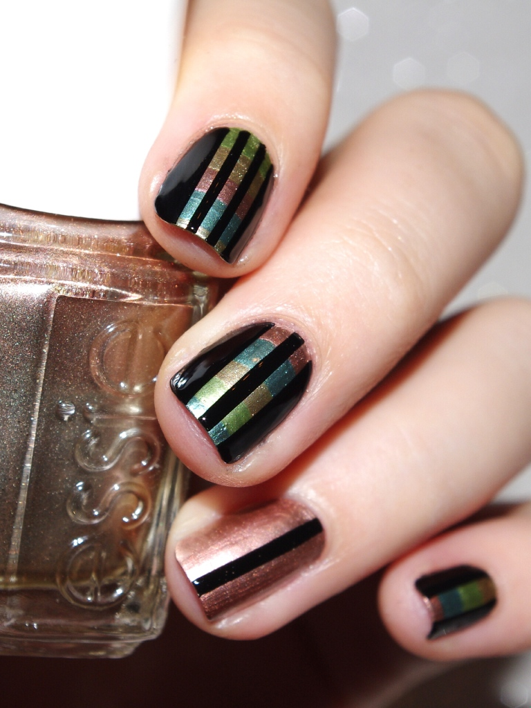 Bulleuw : 31DC2015 Metallic Nails 8