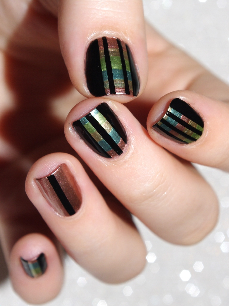 Bulleuw : 31DC2015 Metallic Nails 9