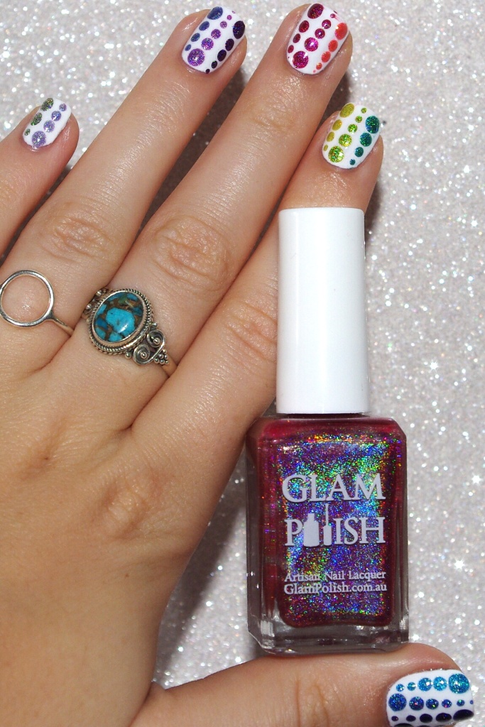 Bulleuw : 31DC2015 Rainbow Nails 6