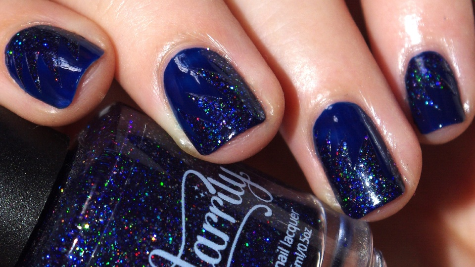 Bulleuw:31DC2015 Blue Nails 10