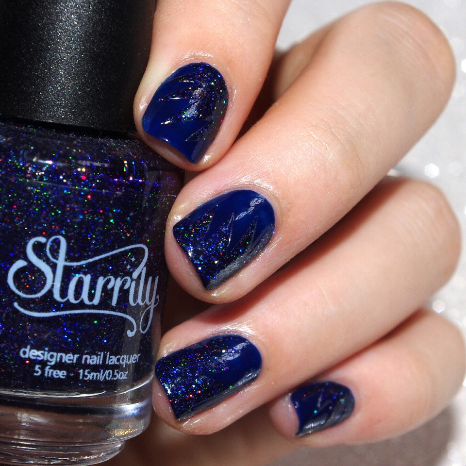 Bulleuw:31DC2015 Blue Nails 5