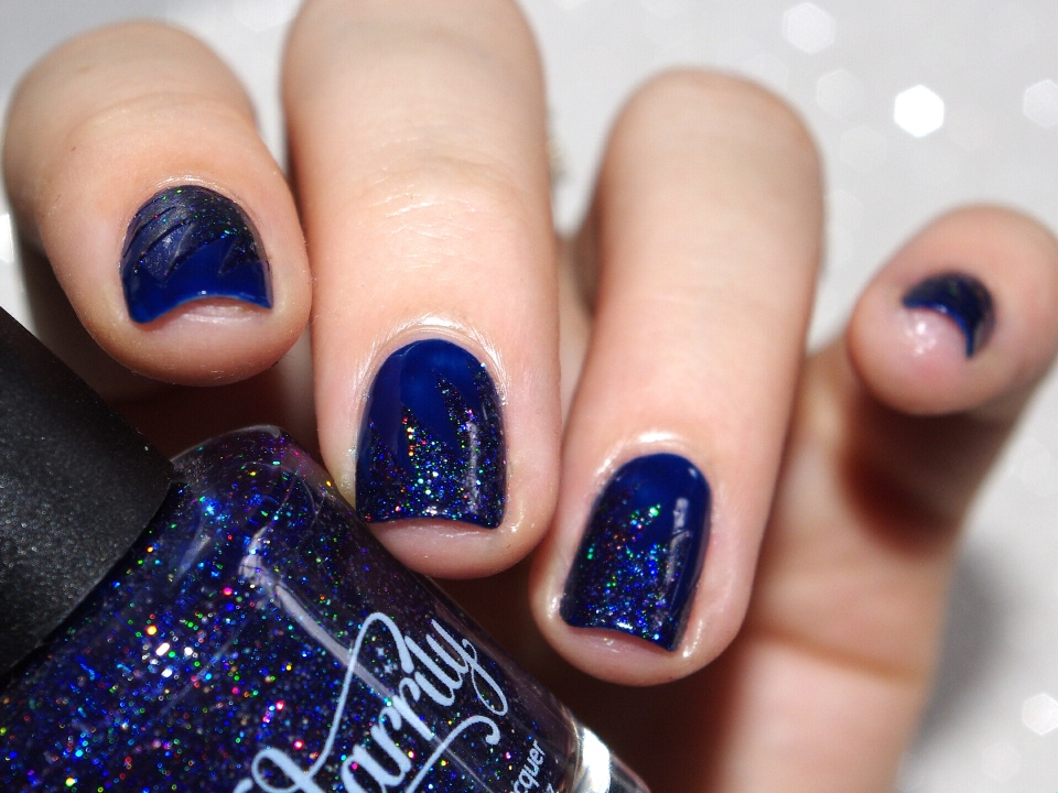 Bulleuw:31DC2015 Blue Nails 8