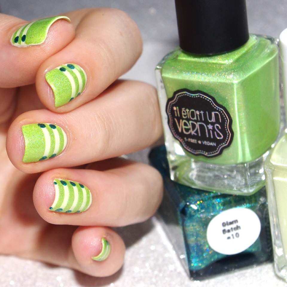 Bulleuw:31DC2015 Green Nails 10