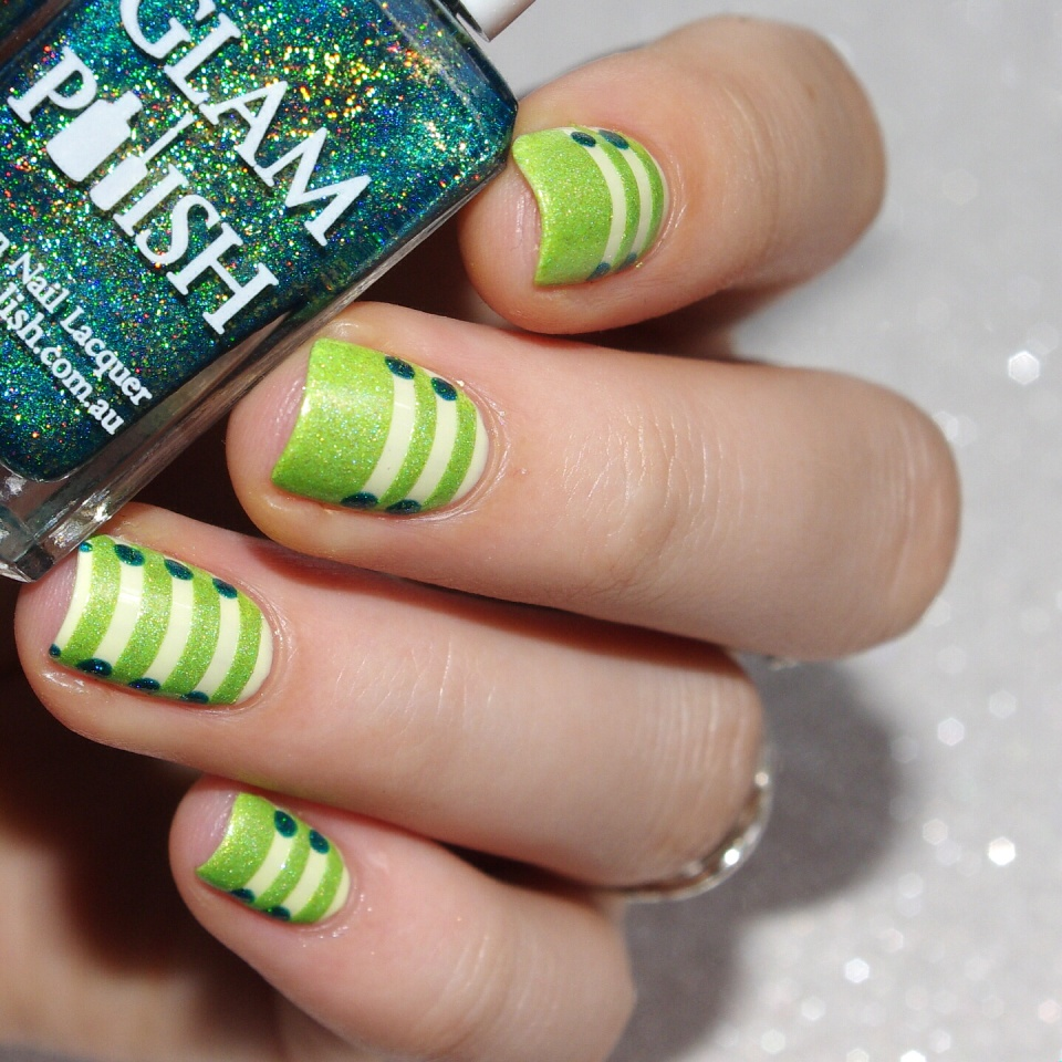 Bulleuw:31DC2015 Green Nails 6