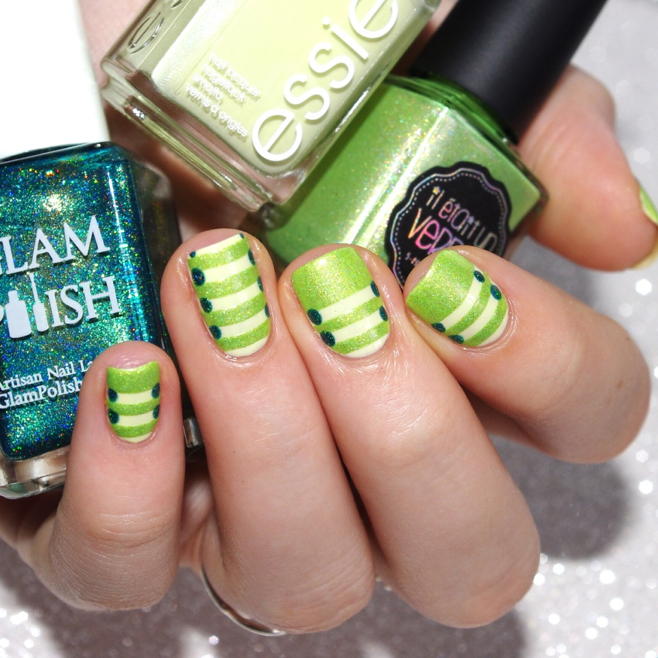 Bulleuw:31DC2015 Green Nails 7