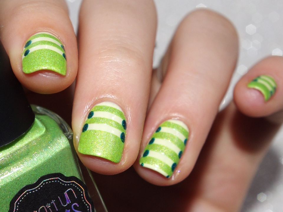 Bulleuw:31DC2015 Green Nails 8