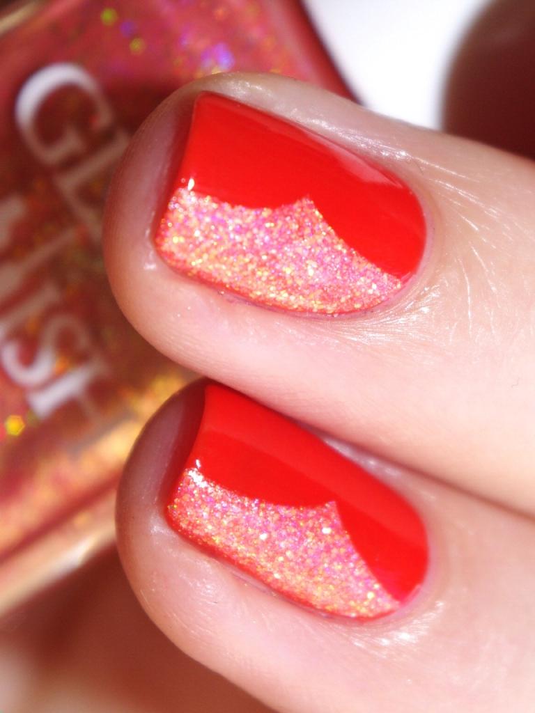 Bulleuw:31DC2015 Orange nails 10