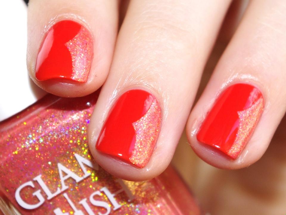 Bulleuw:31DC2015 Orange nails 9