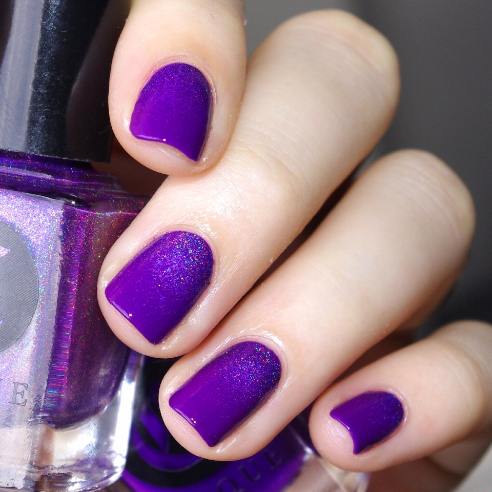 Bulleuw:31DC2015 Violet Nails 5