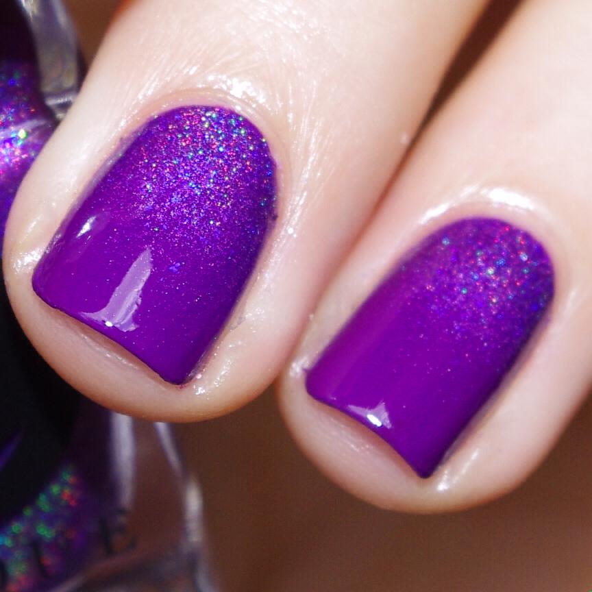 Bulleuw:31DC2015 Violet Nails 7