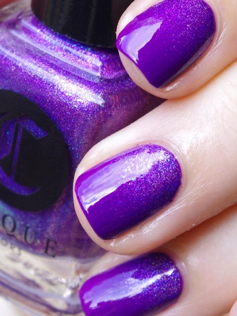 Bulleuw:31DC2015 Violet Nails 8