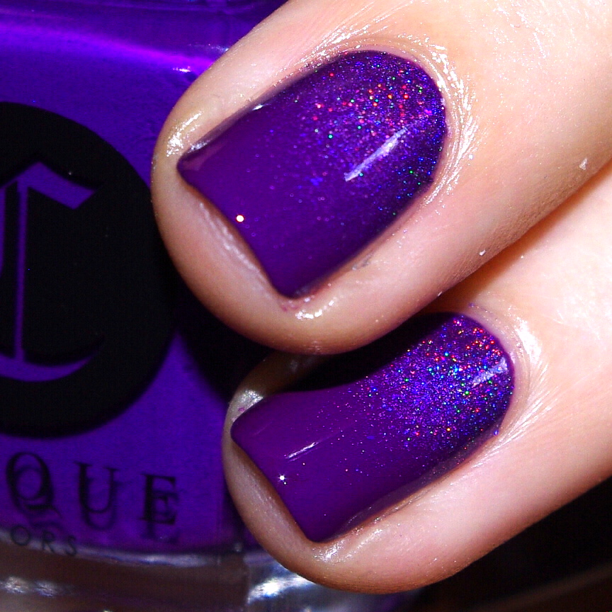Bulleuw:31DC2015 Violet Nails 9