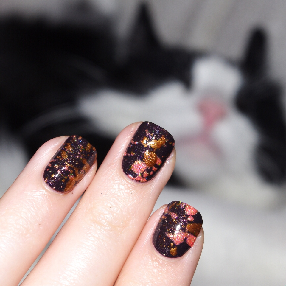 Bulleuw : Halloween Nails part one 14
