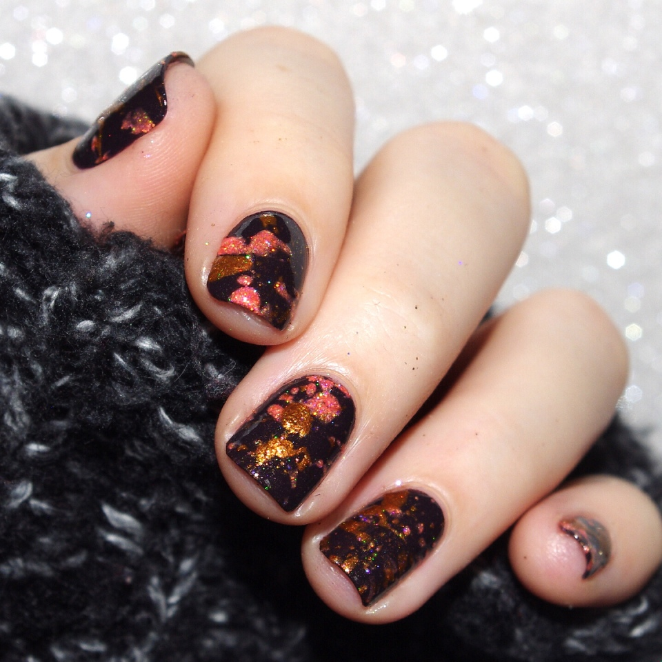 Bulleuw : Halloween Nails part one 8